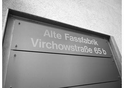 Eingang Fassfabrik